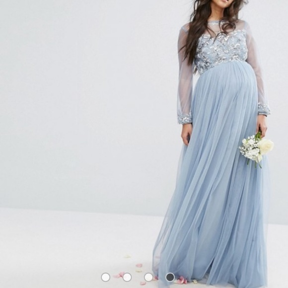 cb0e8306e5d01 ASOS Maternity Dresses & Skirts - Beautiful, flowy Maya Maternity  Embellished Gown